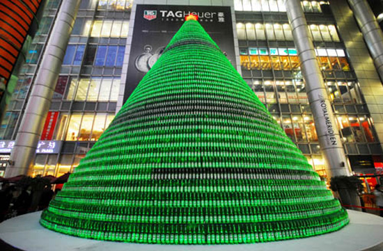 Beer-Bottle-Xmas-tree