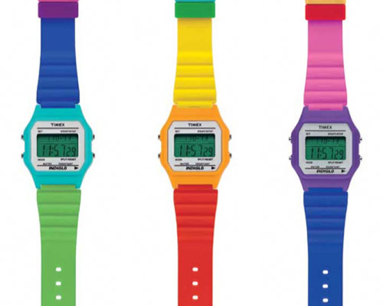 Timex-Rainbow-Watches
