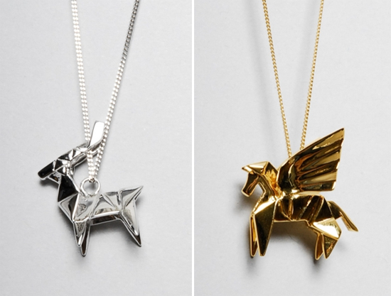 origami jewellery by miss san artatheart