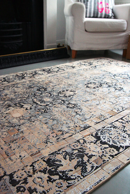 Persian Wood Carpet 1