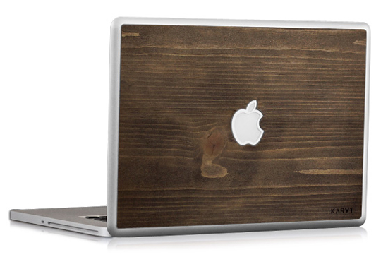 Wood-macbook-skin