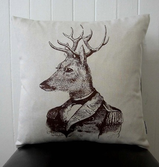 Deer-Cushion