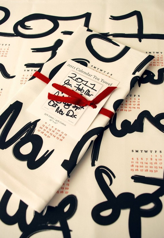Calendar-Tea-Towel
